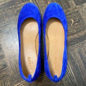 """J. Crew """"blue suede shoes"""" 💙"""